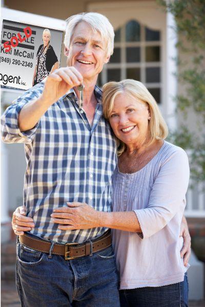 Senior 55+ Real Estate Kelihome.com Keli McCall Realtor For Sale Sign Buying